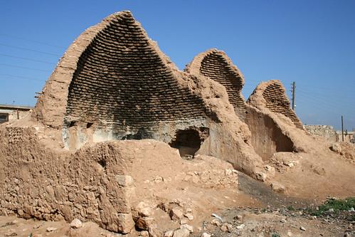 houses sky house brick wall syria walls beehive aleppo سوريا سورية سوريّة حلب