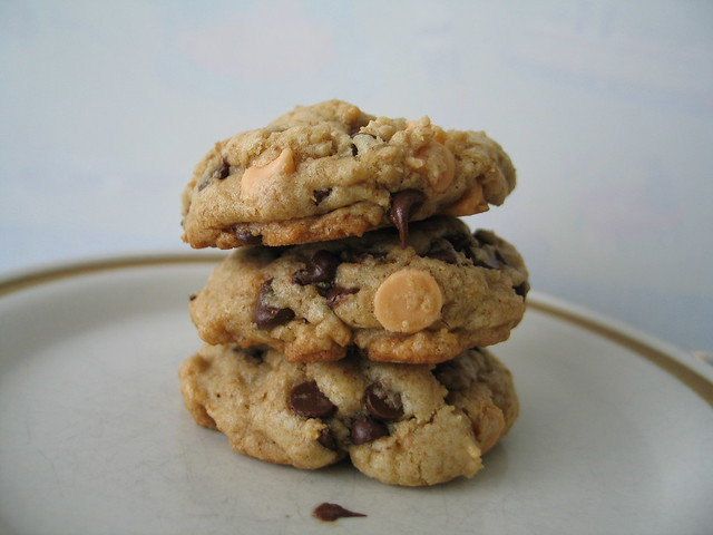 chocolate chip (butterscotch) cookies