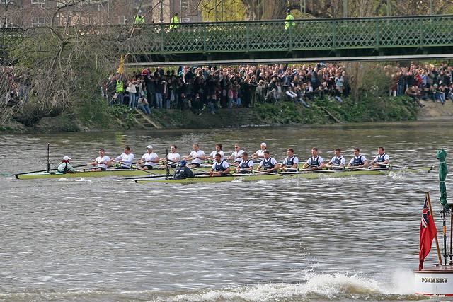 Oxford cambridge Boat Race 2009