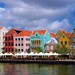 The beautiful Town of Willemstad on the Caribbean Island of Curacao