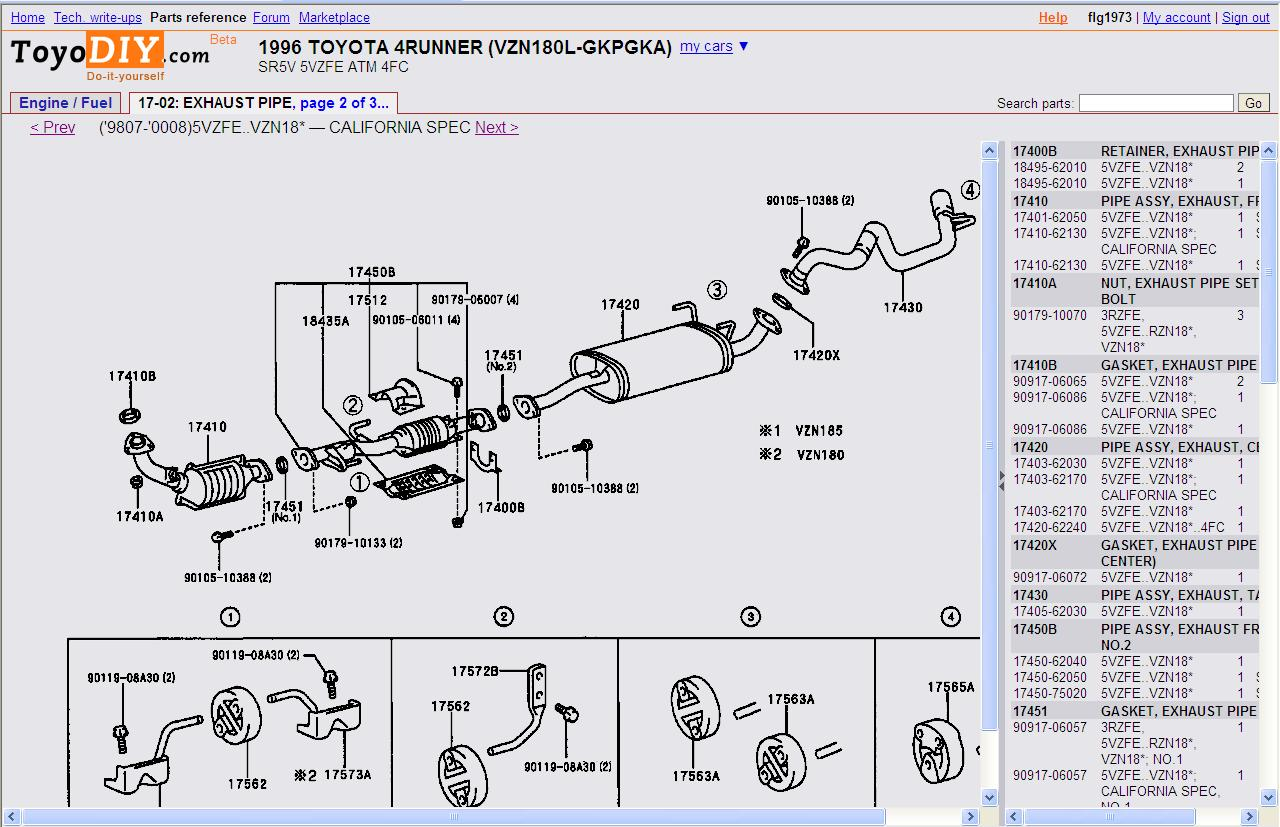 toyota tacoma oxygen sensor location get free image 2003 Eclipse Fuse Box  Diagram 2001 Mitsubishi Eclipse Fuse Box