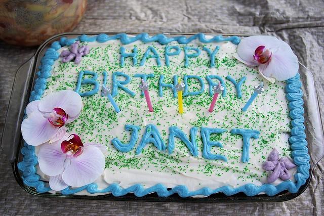Birthday Cake Janet