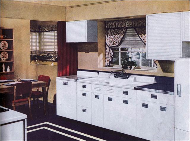 1940 39 s kitchens a gallery on flickr. Black Bedroom Furniture Sets. Home Design Ideas