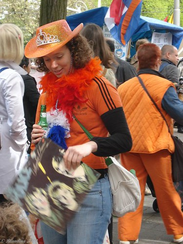 Outfits during Queen's Day