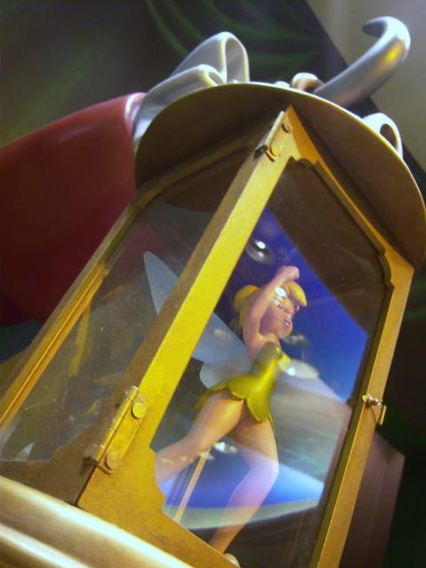 Tinker bell trapped by captain hook at world of disney flickr