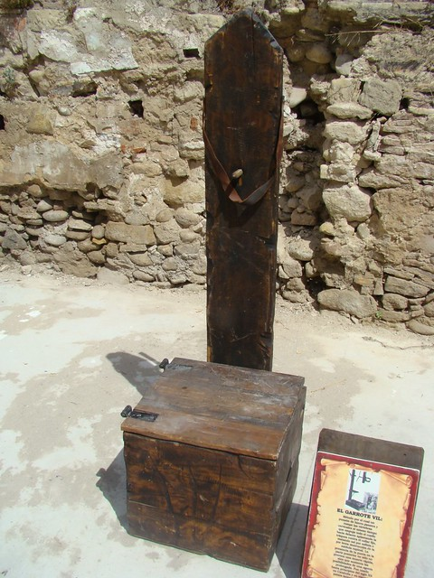 Instrumento de tortura (Garrote Vil)