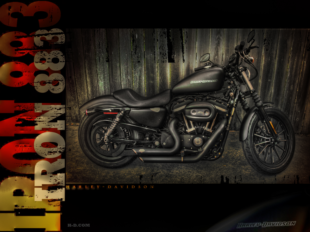 iron 883 wallpaper hdr - a photo on flickriver