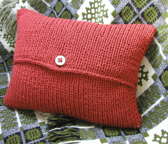 Free Cushion Cover Knitting Patterns : Envelope Cushion Cover Knitting Pattern Flickr - Photo Sharing!