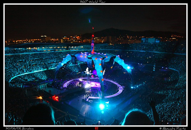 U2 in Barcelona - 360º World Tour