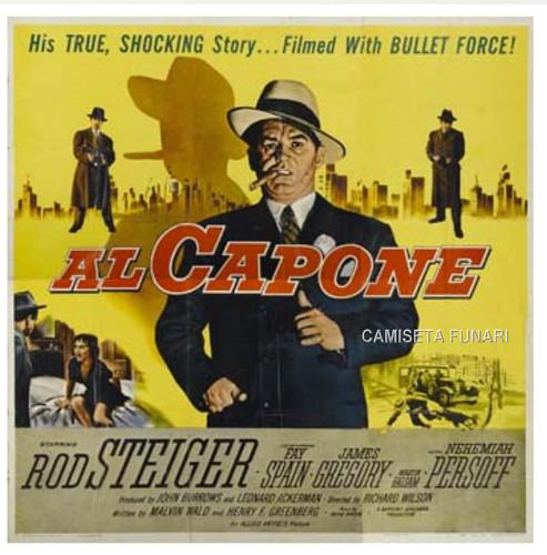 al capone 1959 cinema filme vintage propaganda