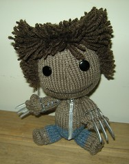 "Sackboy Wolverine LBP ""Little BIG Planet"""