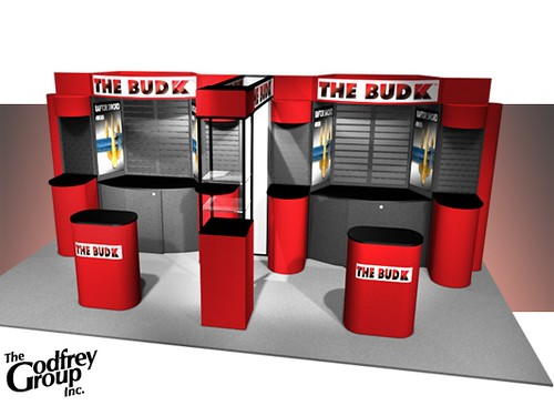Trade Show Booth Graphics : Professional trade show booth graphics for fishing and
