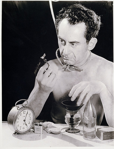 Man Ray, Self-Portrait with gun, 1930s
