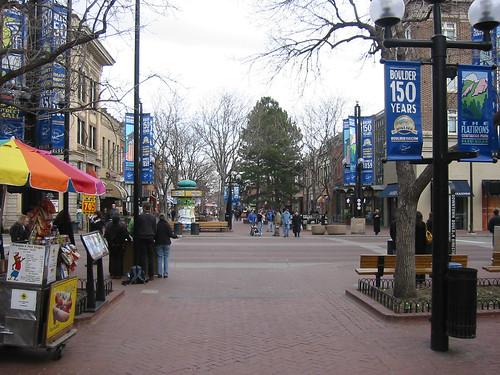 Pearl Street, Boulder, CO