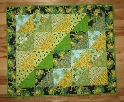 Rainforest Flannel Quilt