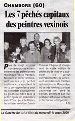 La Gazette du Val d'Oise, 11 mars 2009