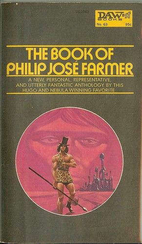 The Book Of Philip Jose Farmer - cover by Gaughan
