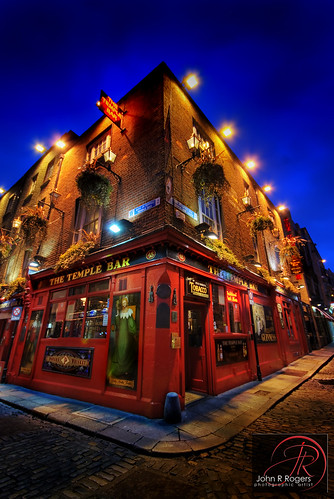 The Temple Bar, Dublin Ireland