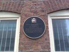 Photo of Black plaque number 717