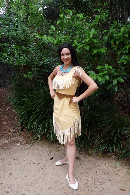 Meeting Pocahontas