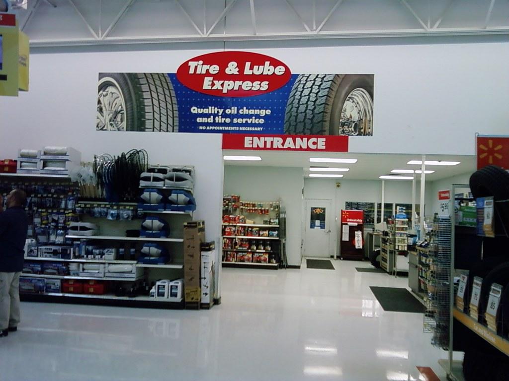 Wal Mart Ottumwa Iowa Tire Lube Express A Photo On Flickriver
