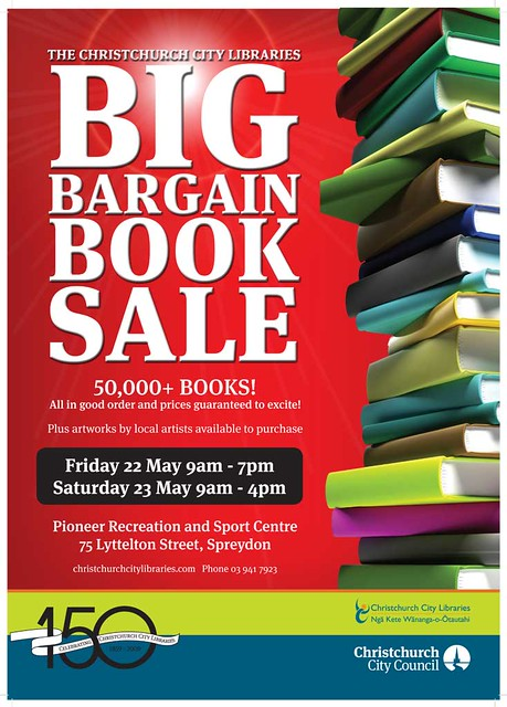 2009 Book Sale Poster | Flickr - Photo Sharing!