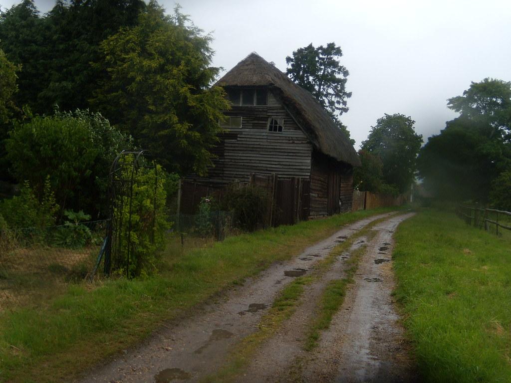 Old barn Appleford Circular