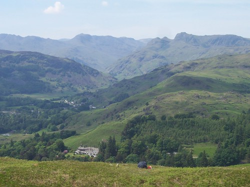 View from Loughrigg summit