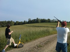 clay pigeon shooting, sports, recreation, outdoor recreation, trap shooting, wind,