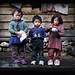 3-Nepali-khumbu-kids-outsidehouse