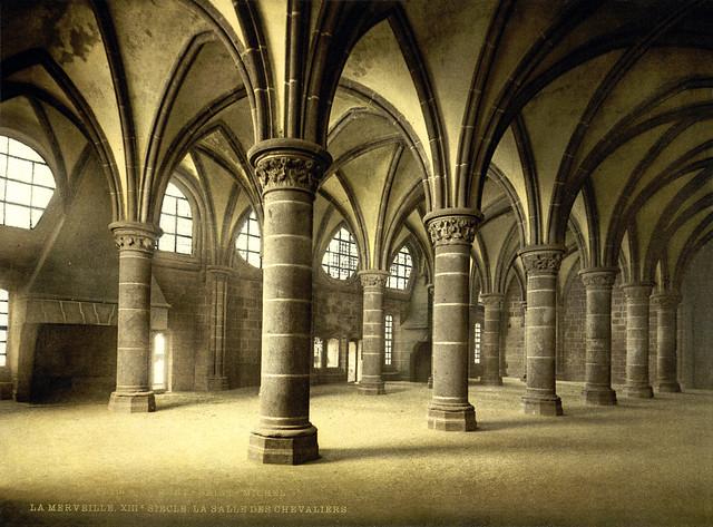 Description flickr - …trialsanderrors - knights' hall, la merveille