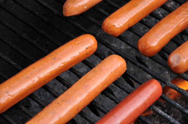 photo of hotdogs
