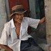 Elderly Man with a Hat - Santa Ana, El Salvador