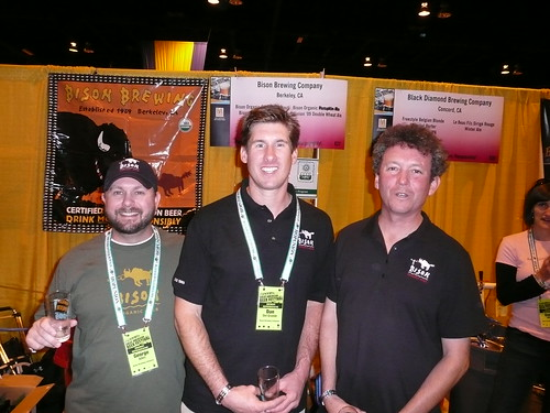 George Allen, Dan Del Grande & Mark Cabrera from Bison Brewing