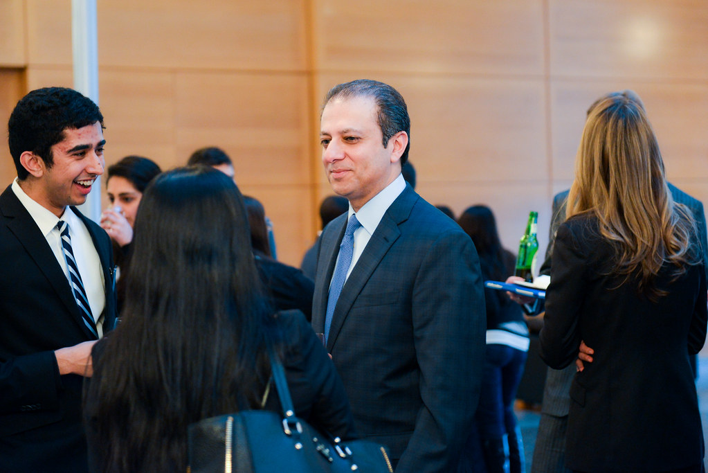 Lecture by Preet Bharara, U S  Attorney, Southern District… | Flickr