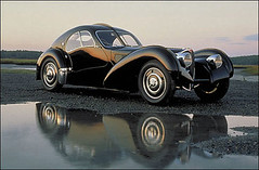 race car, automobile, vehicle, automotive design, bugatti type 57, concept car, vintage car, land vehicle, sports car,