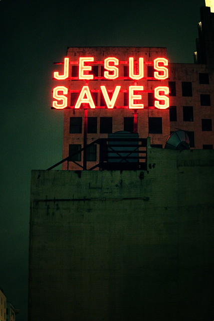 Jesus Saves - a gallery on Flickr