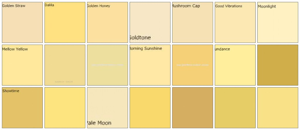 Yellow Paint Designers 39 Favorite Colors A Photo On
