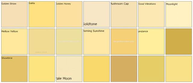 Designer wall paint colors