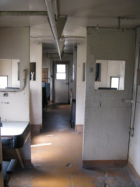 Railroad Caboose Interior http://www.flickr.com/photos/trainman/3362103186/
