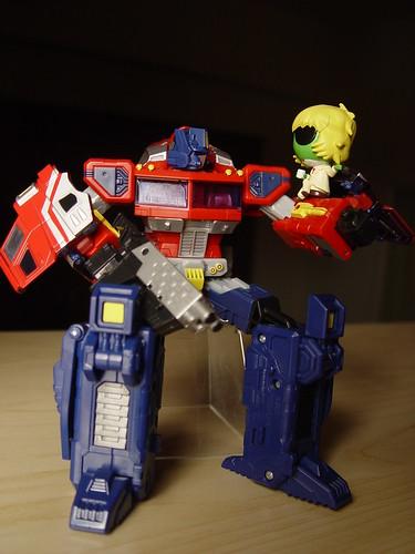 Optimus prime & Keroro