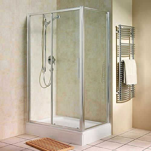 Manhattan Sliding Shower Door And Side Panel Flickr