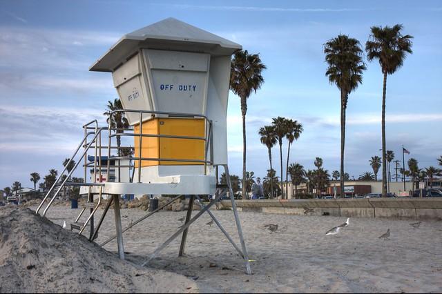 Ocean Beach Lifeguard Tower   Flickr - Photo Sharing! Sandiego