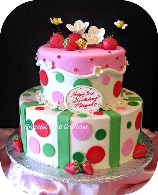 Strawberry Birthday Cake | Flickr - Photo Sharing!