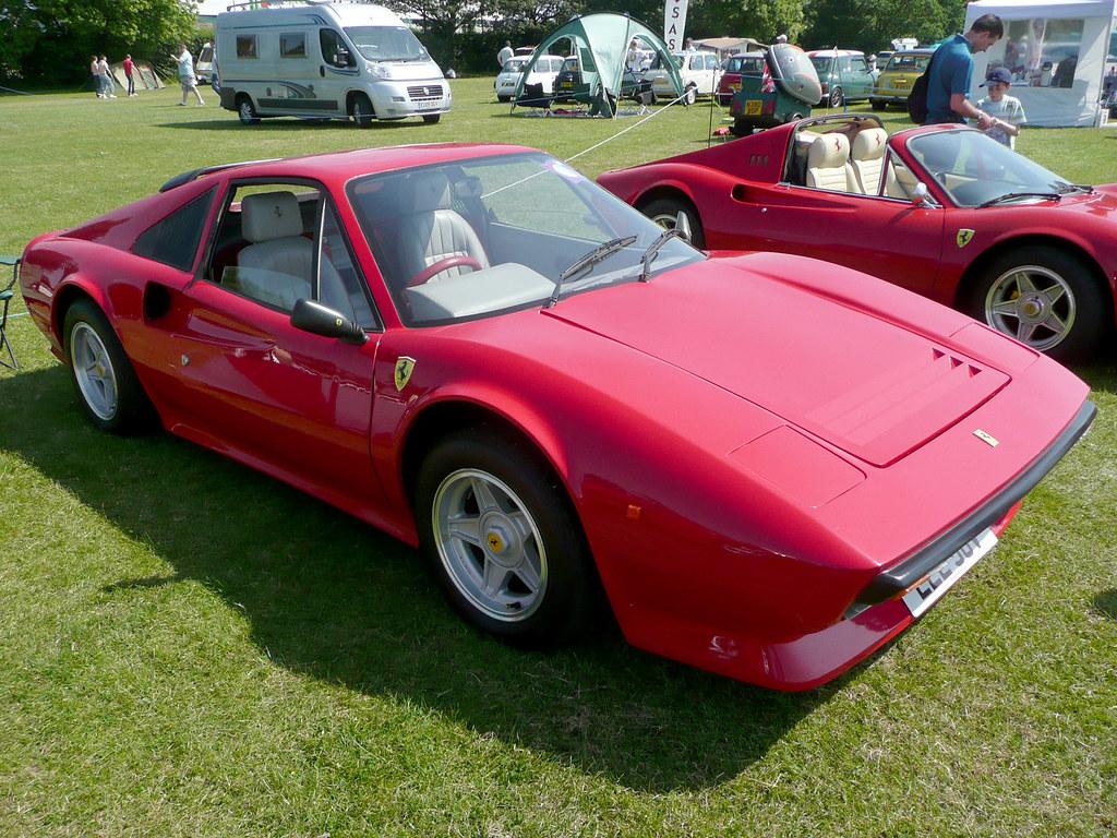 ferrari 308 kit car | the owner of this ferrari replica came… | flickr