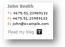 tumblr email signature example | E-mail signatures by WiseSt