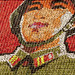 Children pixels in Arirang making a giant soldier - PyongyangNorth Korea by Eric Lafforgue