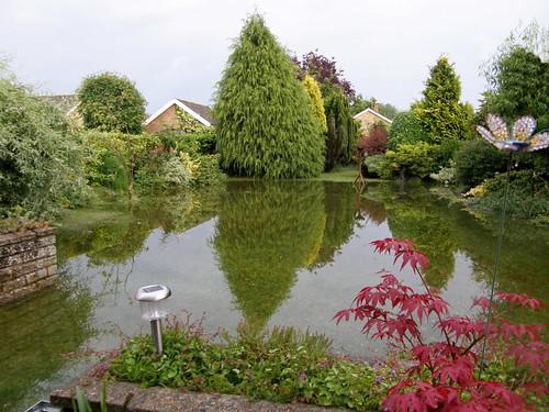 Garden flood 2