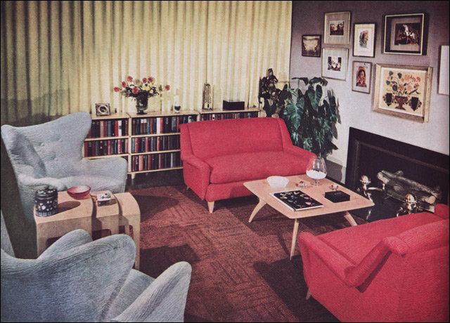 Incroyable 1950s Living Room   Heywood Wakefield