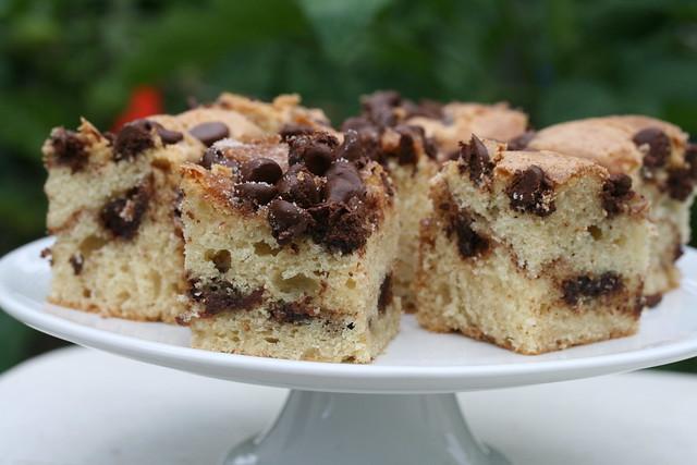 Food Librarian - Cinnamon Chocolate Chip Sour Cream Coffee Cake ...